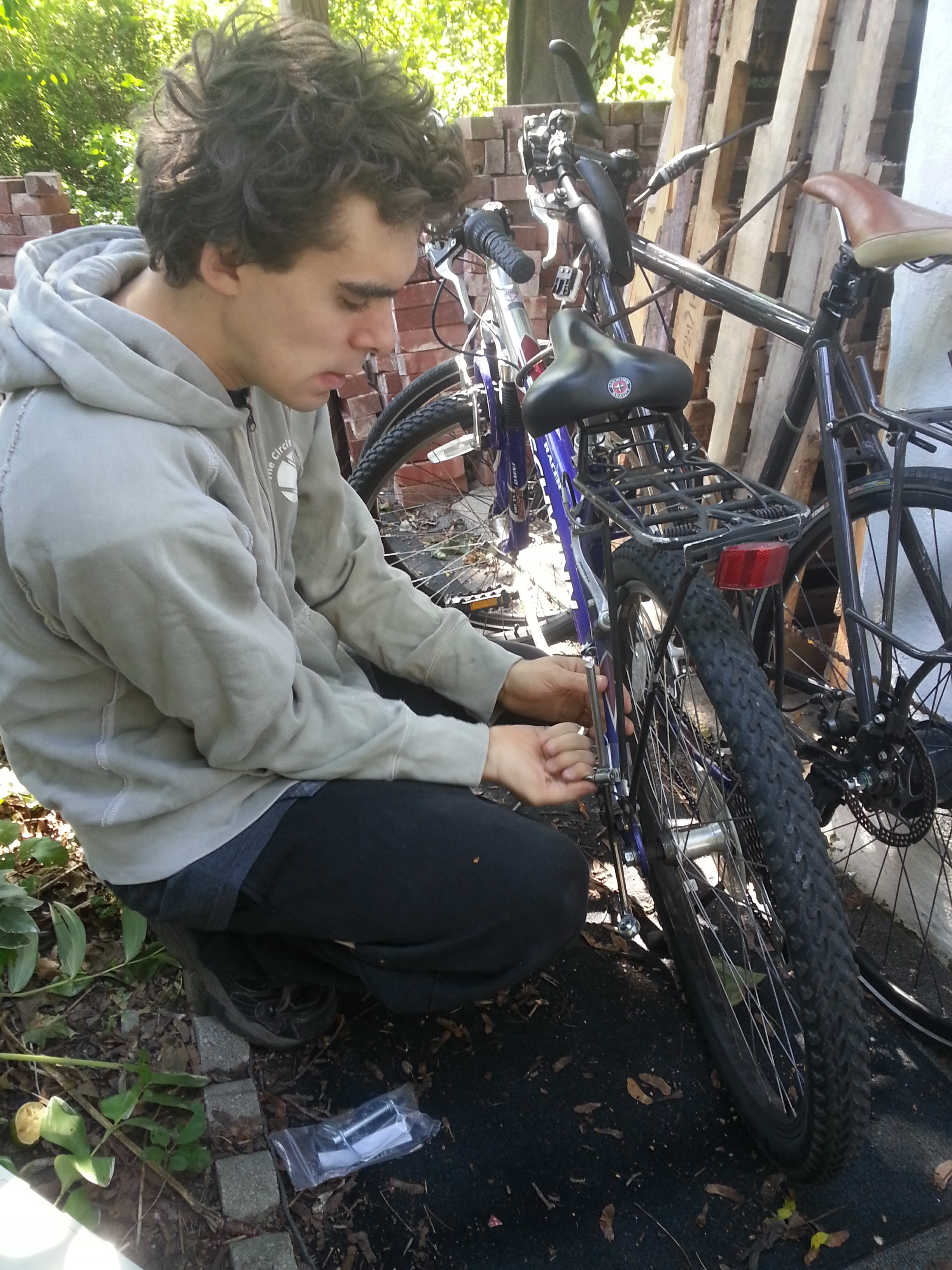Drew installing bike hitch.jpg